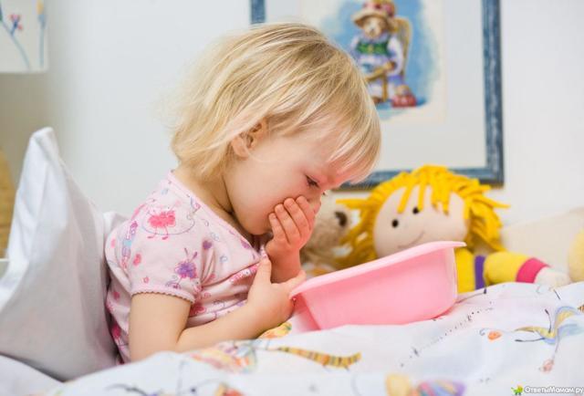 Рвота у ребенка без температуры и поноса - что делать